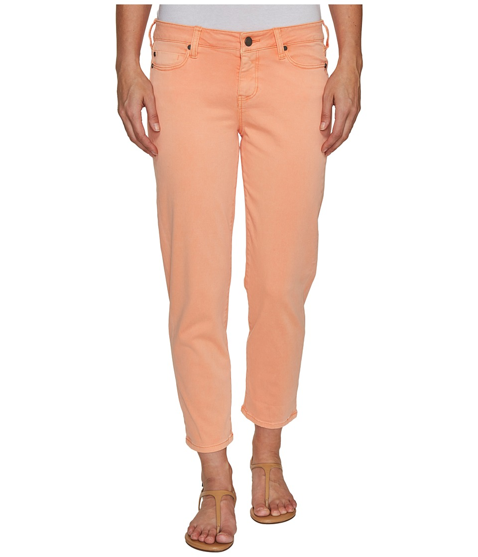 Liverpool - Riley Relaxed Crop in Stretch Peached Twill in Peach Pink (Peach Pink) Women's Jeans