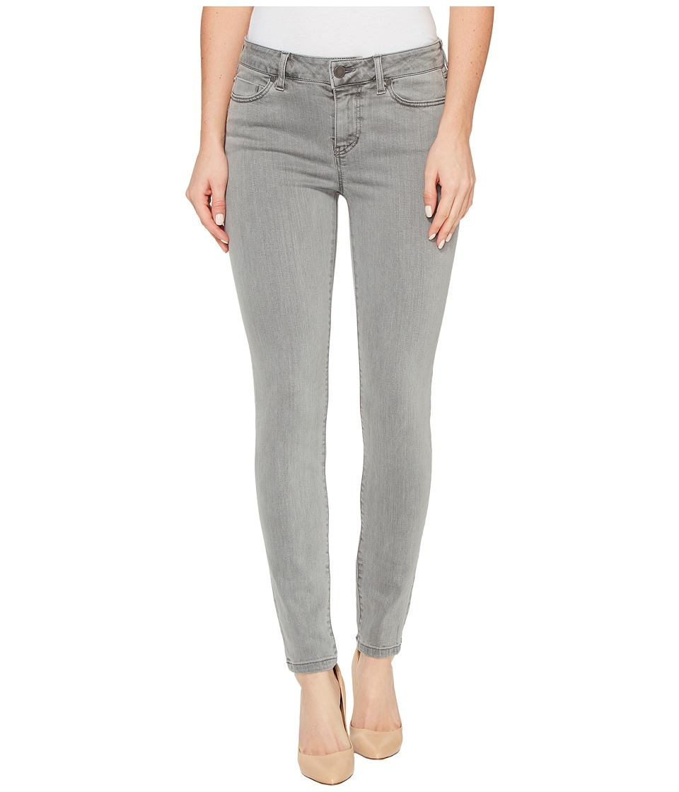 Liverpool - Piper Hugger Ankle Skinny with Lift and Shape in Pigment Dyed Slub Stretch Twill in Sharkskin (Sharkskin) Women's Jeans