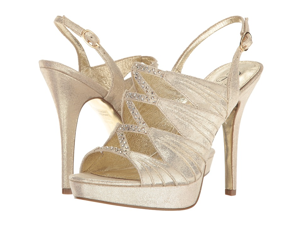 Adrianna Papell - Marissa (Gold Sterling) Women's Shoes