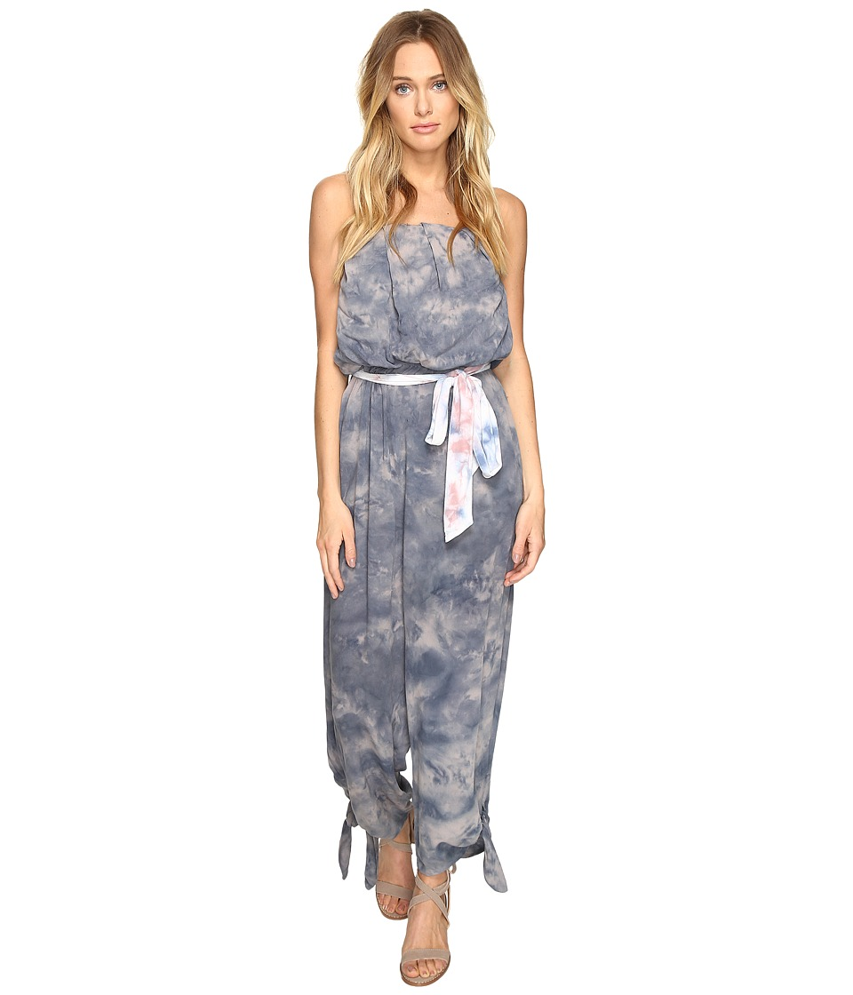 Free People - Just Float One-Piece (Grey) Women's Jumpsuit & Rompers One Piece