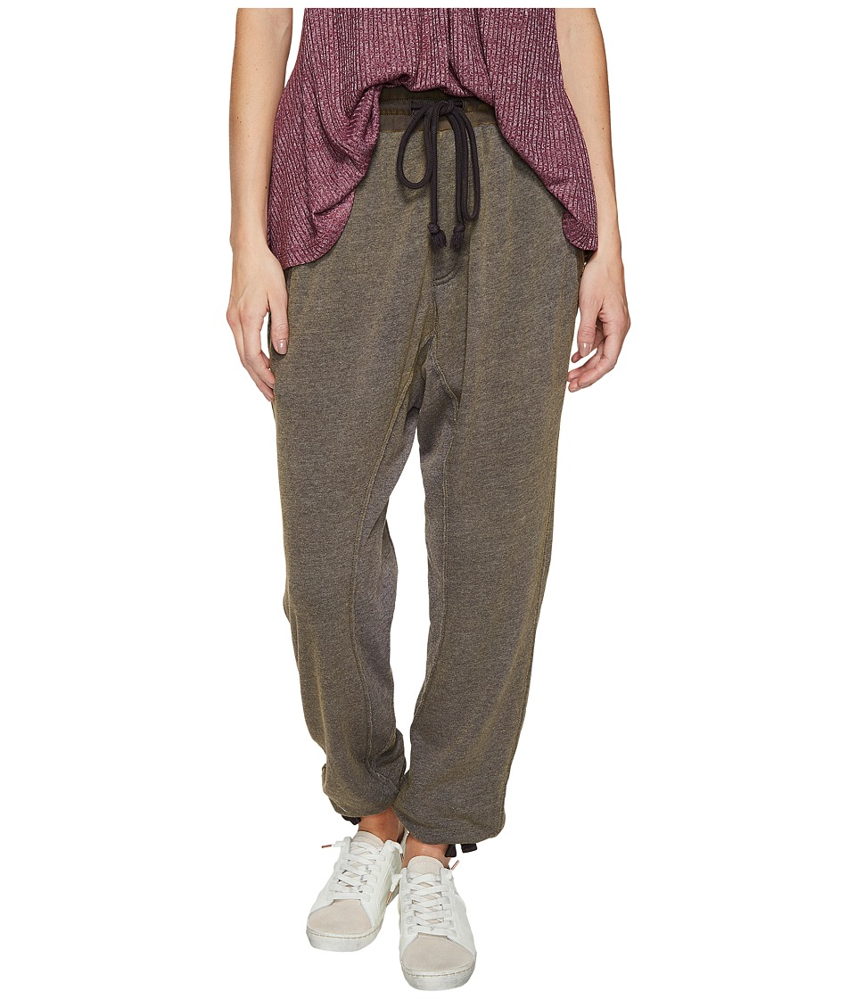 Free People - Coze Zone Balloon Sweatpants (Carbon) Women's Casual Pants