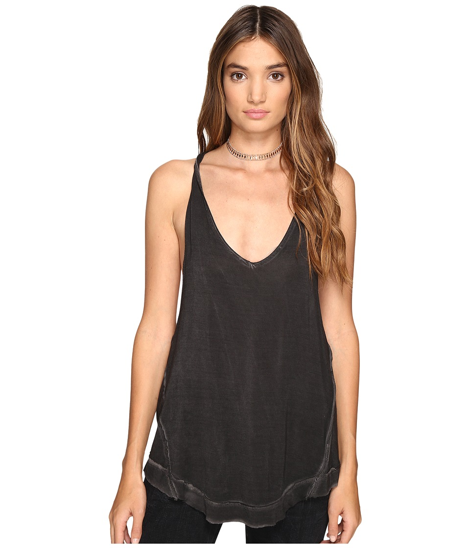 Free People - Nectarine Tank Top (Black) Women's Sleeveless