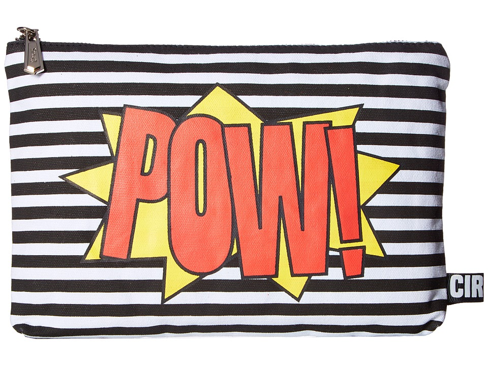 Circus by Sam Edelman - Zane Pouch (Pow Bam/Black/White Stripe) Wallet Handbags