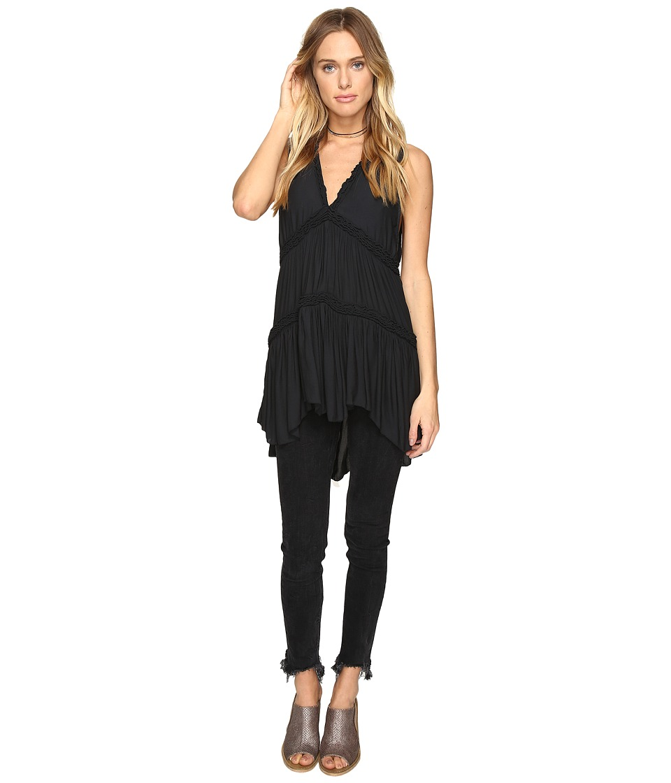 Free People - Purple Haze Tunic (Black) Women's Clothing