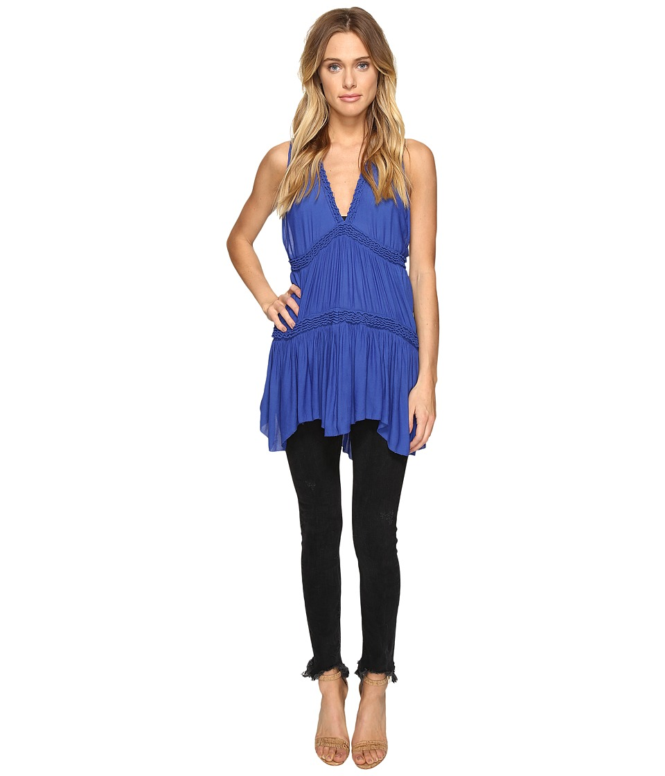 Free People - Purple Haze Tunic (Blue) Women's Clothing