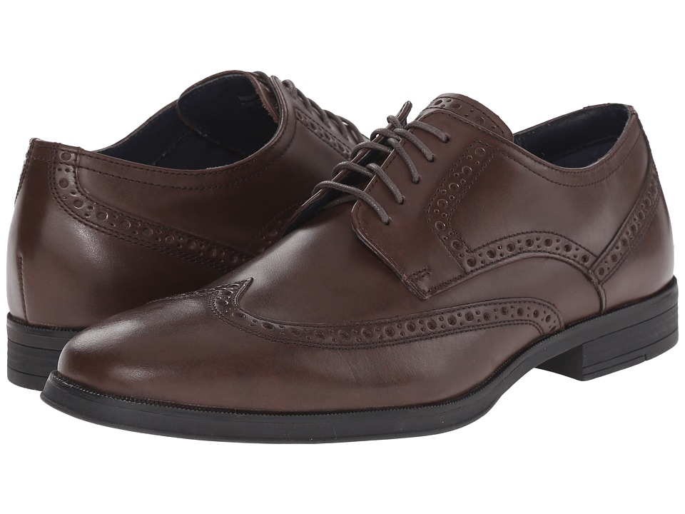 Cole Haan - Montgomery Wing (Chestnut Suede) Men's Shoes