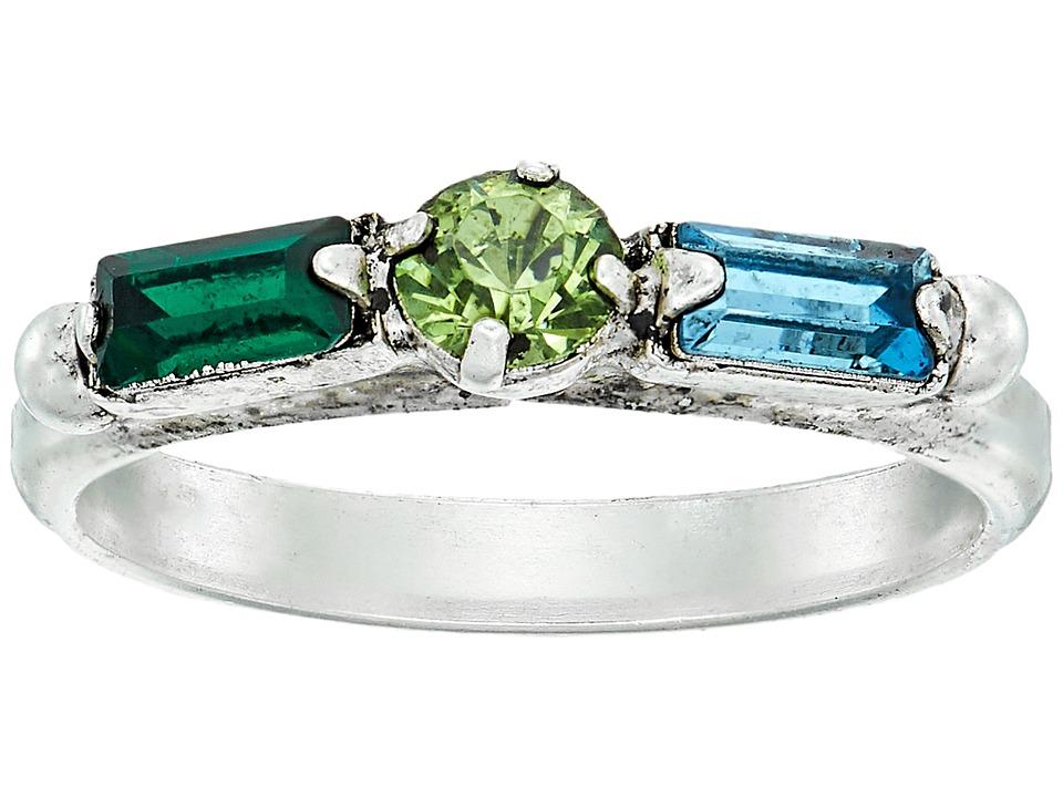 DANNIJO - FORTUNA Ring (Ox Silver/Multi) Ring