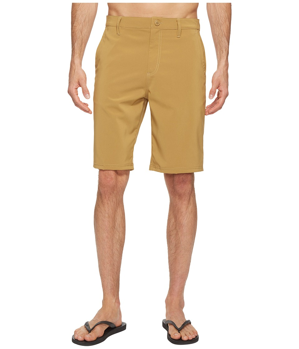 Vans - Authentic Hybrid Shorts 21 (New Mushroom Brown) Men's Shorts