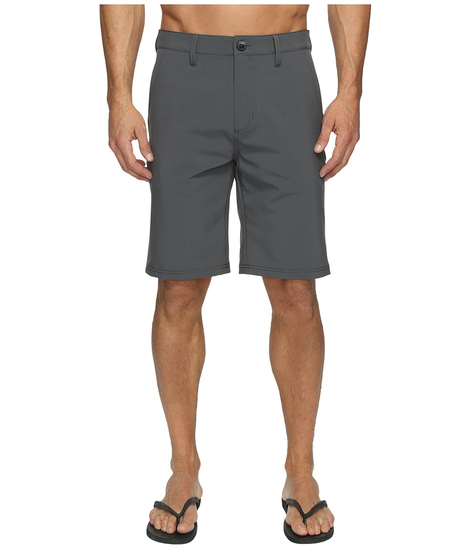 Vans - Authentic Hybrid Shorts 21 (Gravel) Men's Shorts