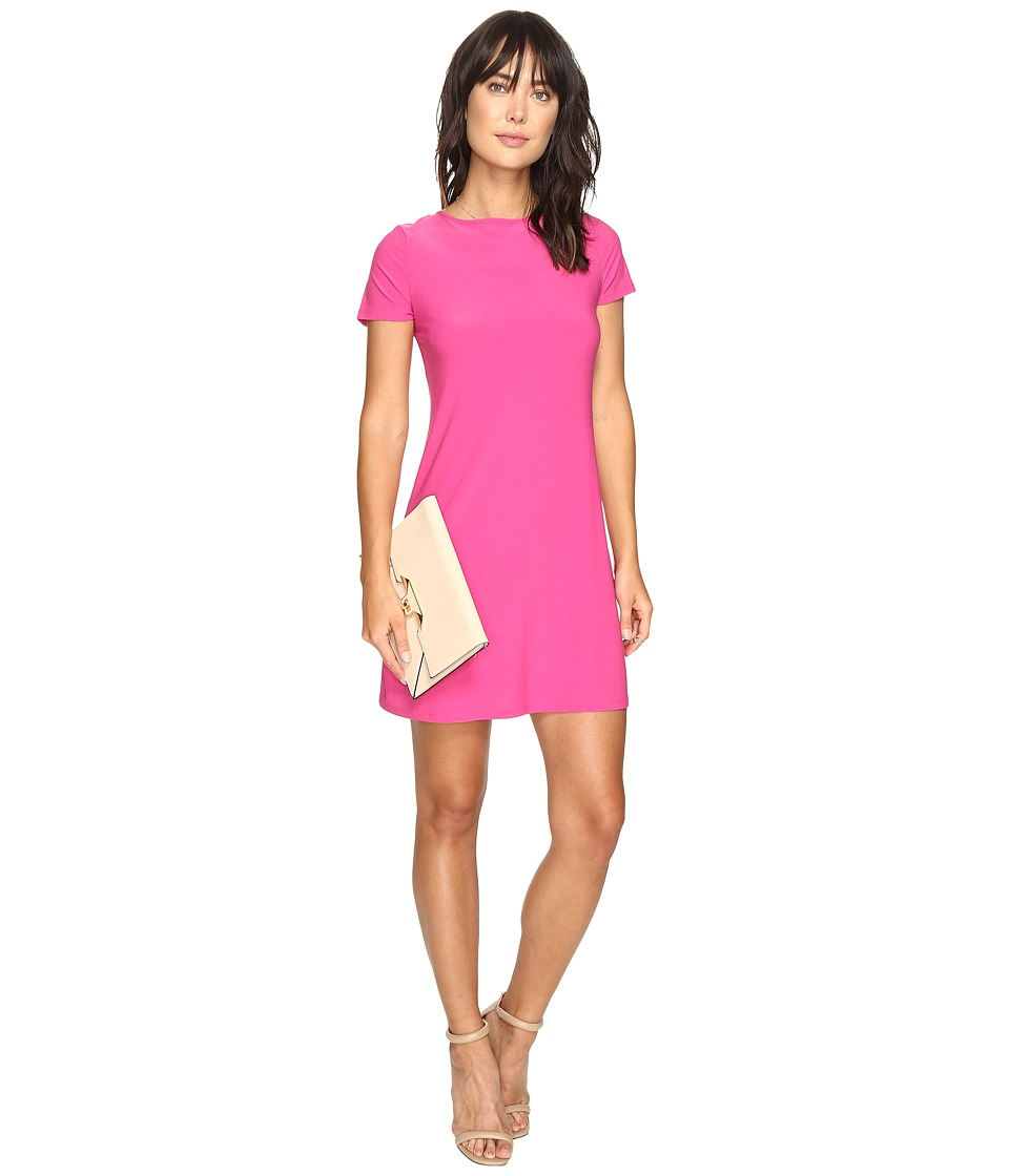 kensie - Slinky Knit Reversible Dress KS3K7788 (Bright Fuchsia) Women's Dress