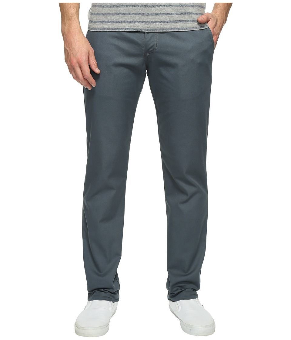 Vans - Authentic Stretch Chino Pants (Dark Slate) Men's Casual Pants