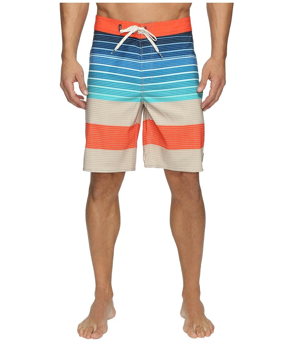 Vans Era Stretch Boardshorts 20 (Khaki Compass Stripe) Men