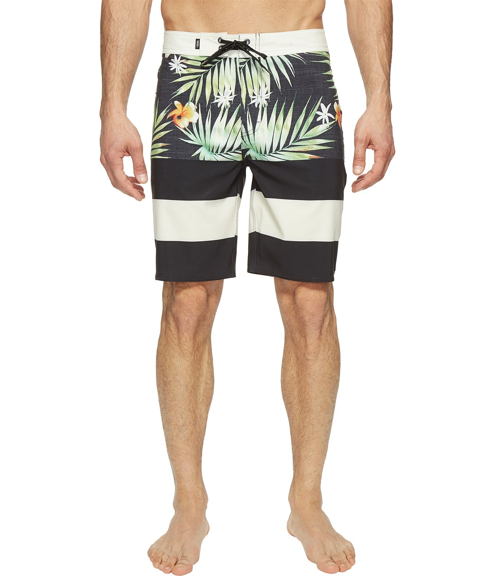 Vans - Era Stretch Boardshorts 20 (Black Decay Palm) Men's Swimwear