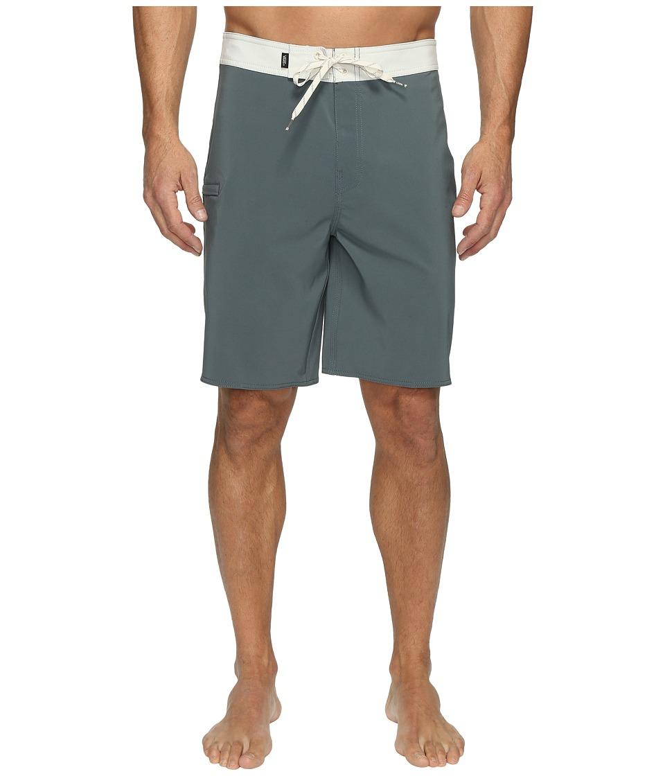 Vans - Signal Stretch Boardshorts 20 (Dark Slate/Turtle Dove) Men's Swimwear
