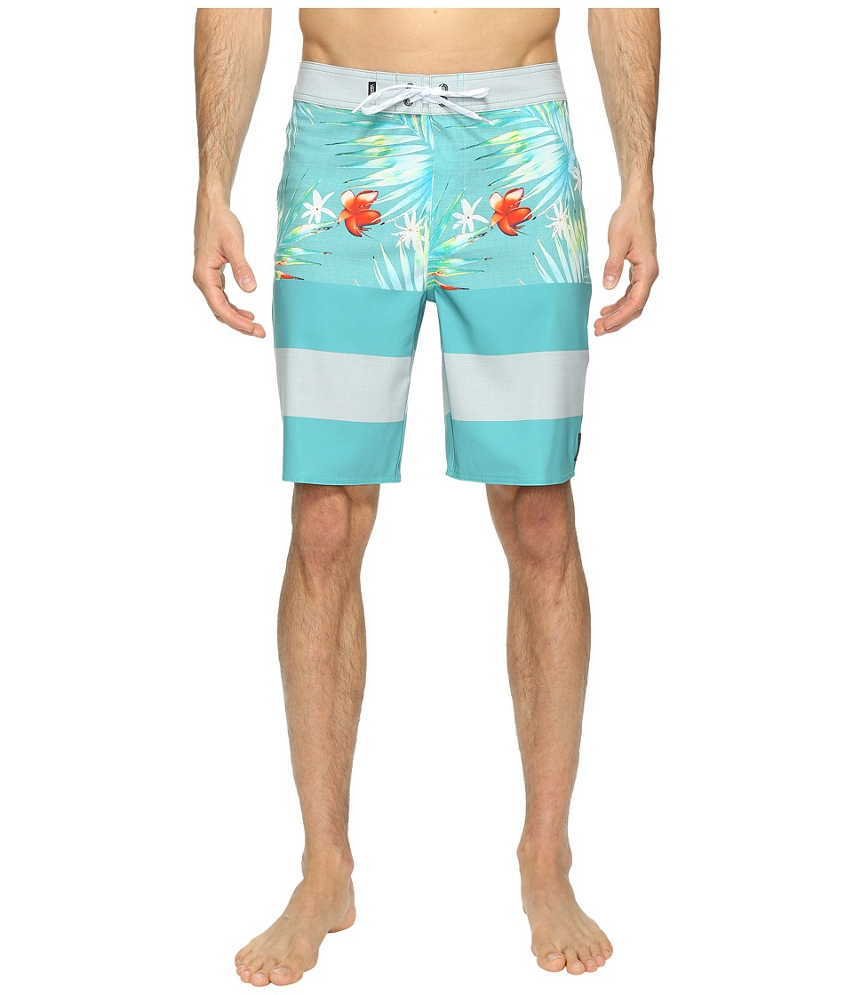 Vans - Era Stretch Boardshorts 20 (Baltic Decay Palm) Men's Swimwear
