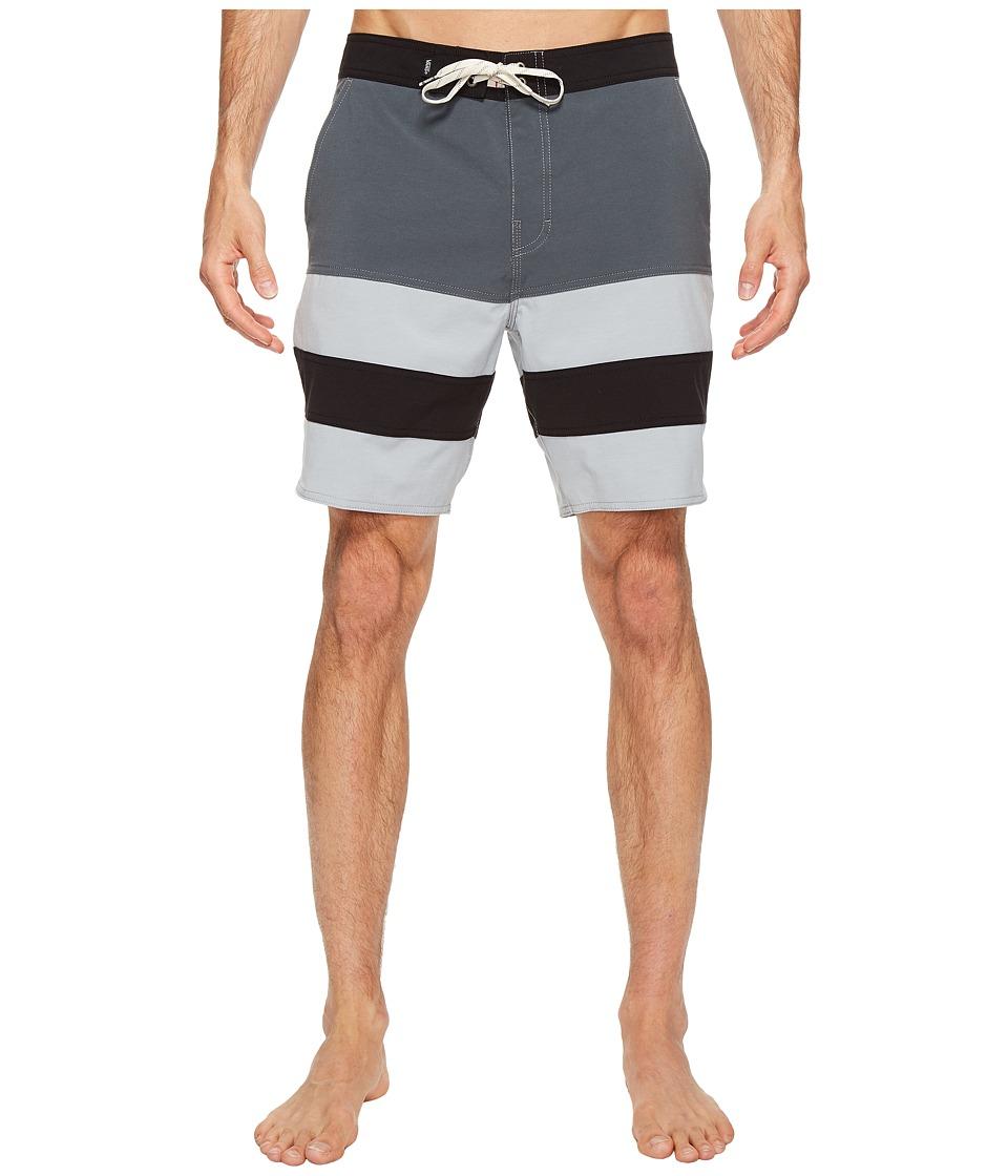 Vans - Era Panel Boardshorts 19 (Dark Slate/Quarry) Men's Swimwear