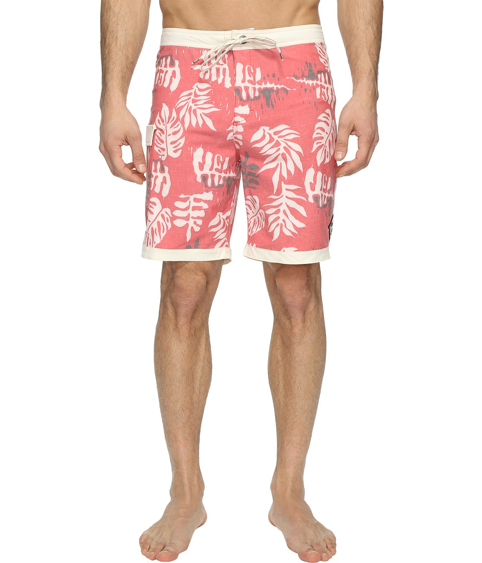 Vans - Model T Boardshorts 19 (Racing Red) Men's Swimwear