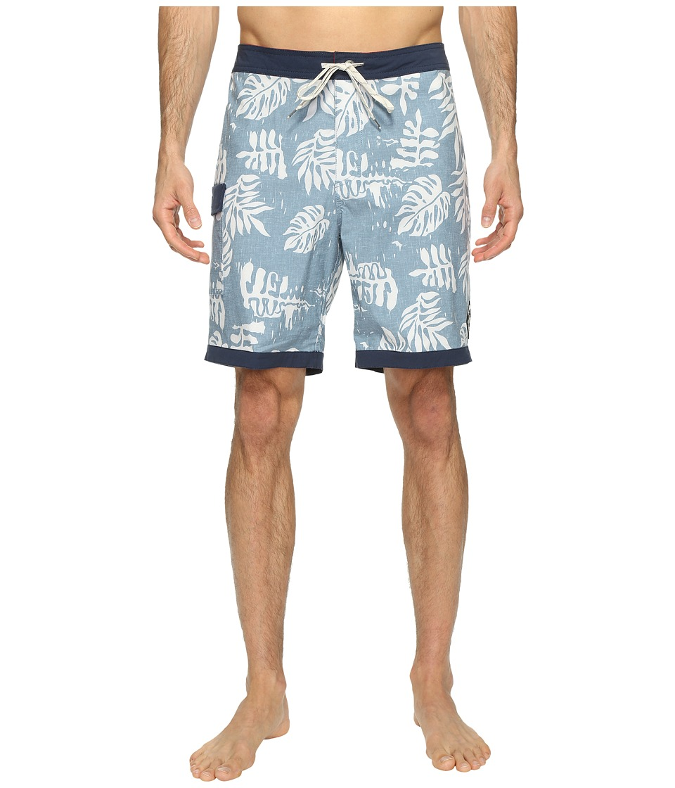 Vans - Model T Boardshorts 19 (Blue Ashes) Men's Swimwear