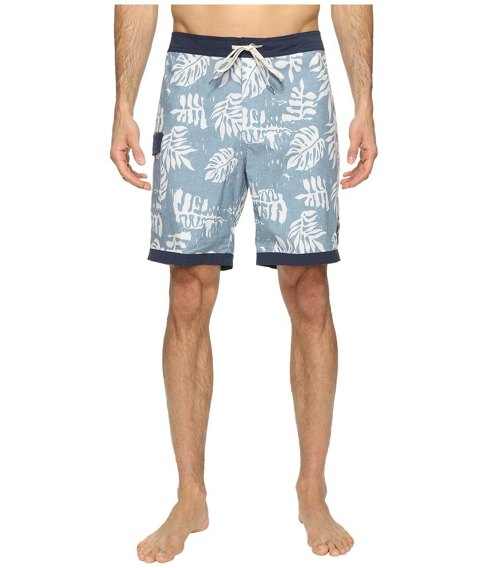 Vans - Model T Boardshorts 19 (Blue Ashes) Men's Swimwear