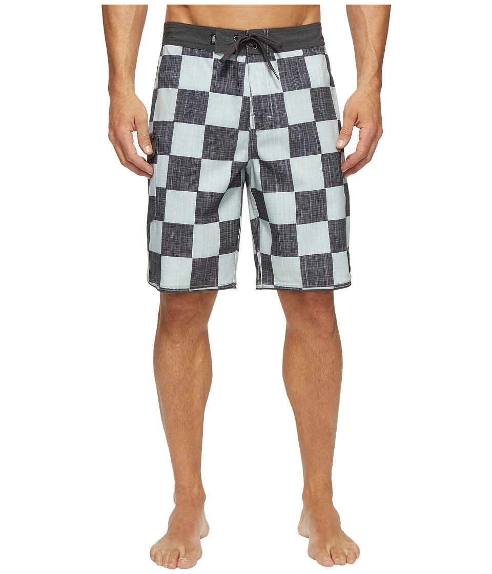 Vans - Mixed Scallop Boardshorts (Checkerboard) Men's Swimwear