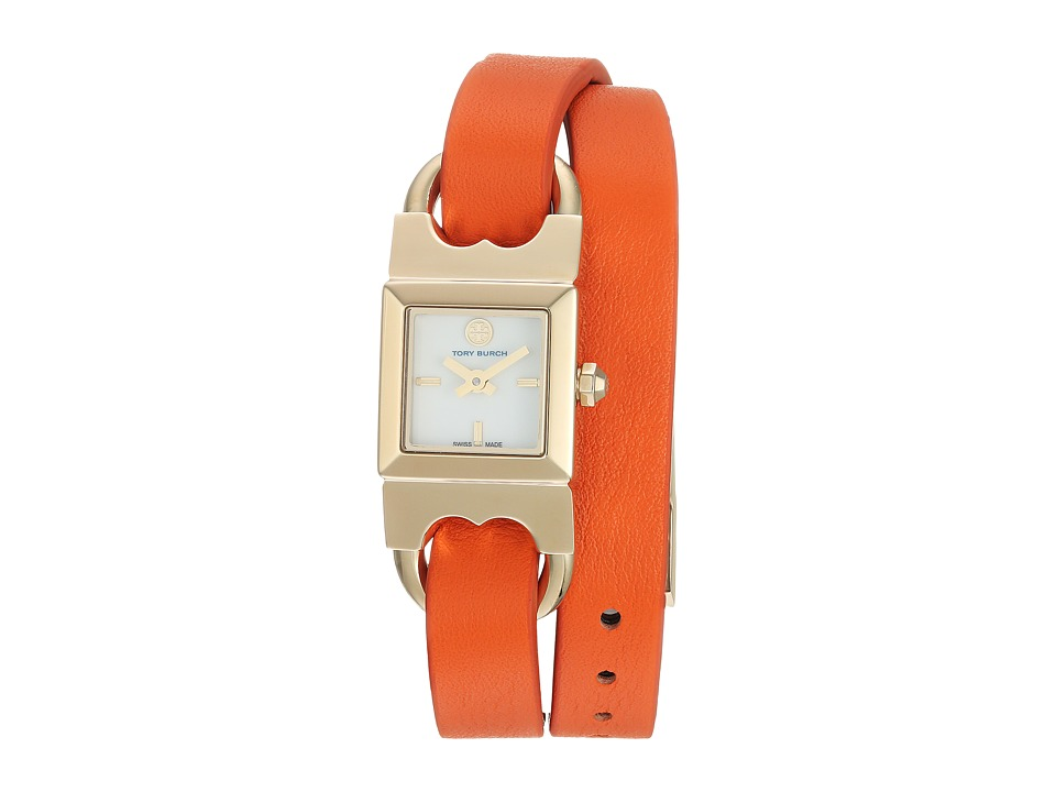 Tory Burch - Gemini - TB5403 (Luggage/Orange) Watches