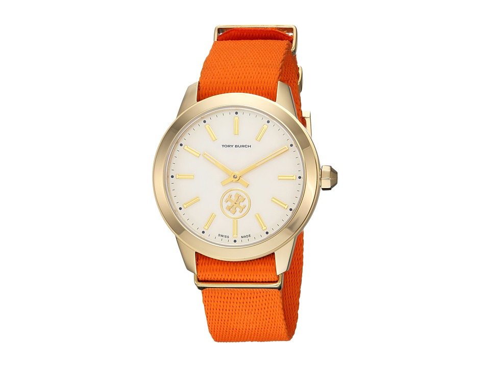 Tory Burch - Collins Preppy - TB1210 (Orange) Watches
