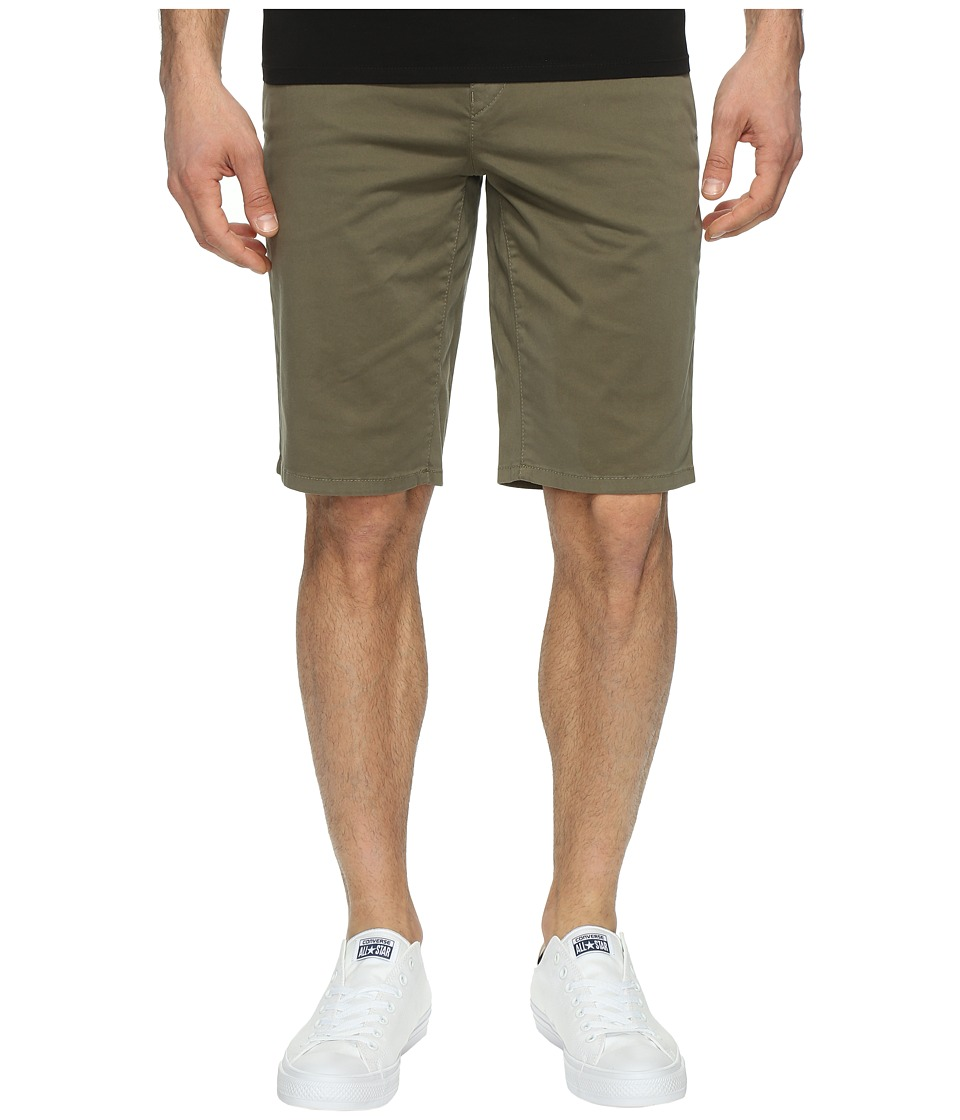 BOSS Orange - Schino-Slim-Shorts-D 10195867 01 (Dark Green) Men's Shorts