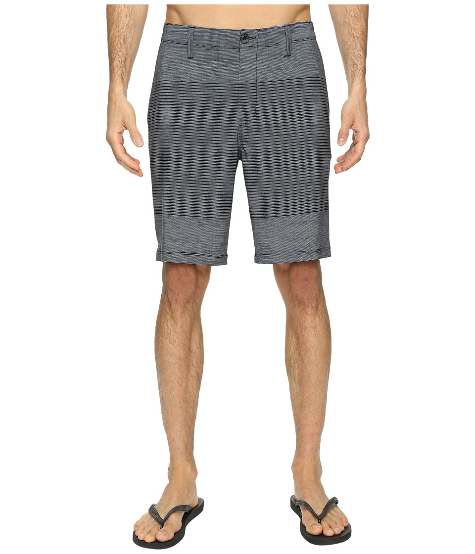 Vans - Gaviota Stripe Hybrid Shorts 20 (Black) Men's Shorts