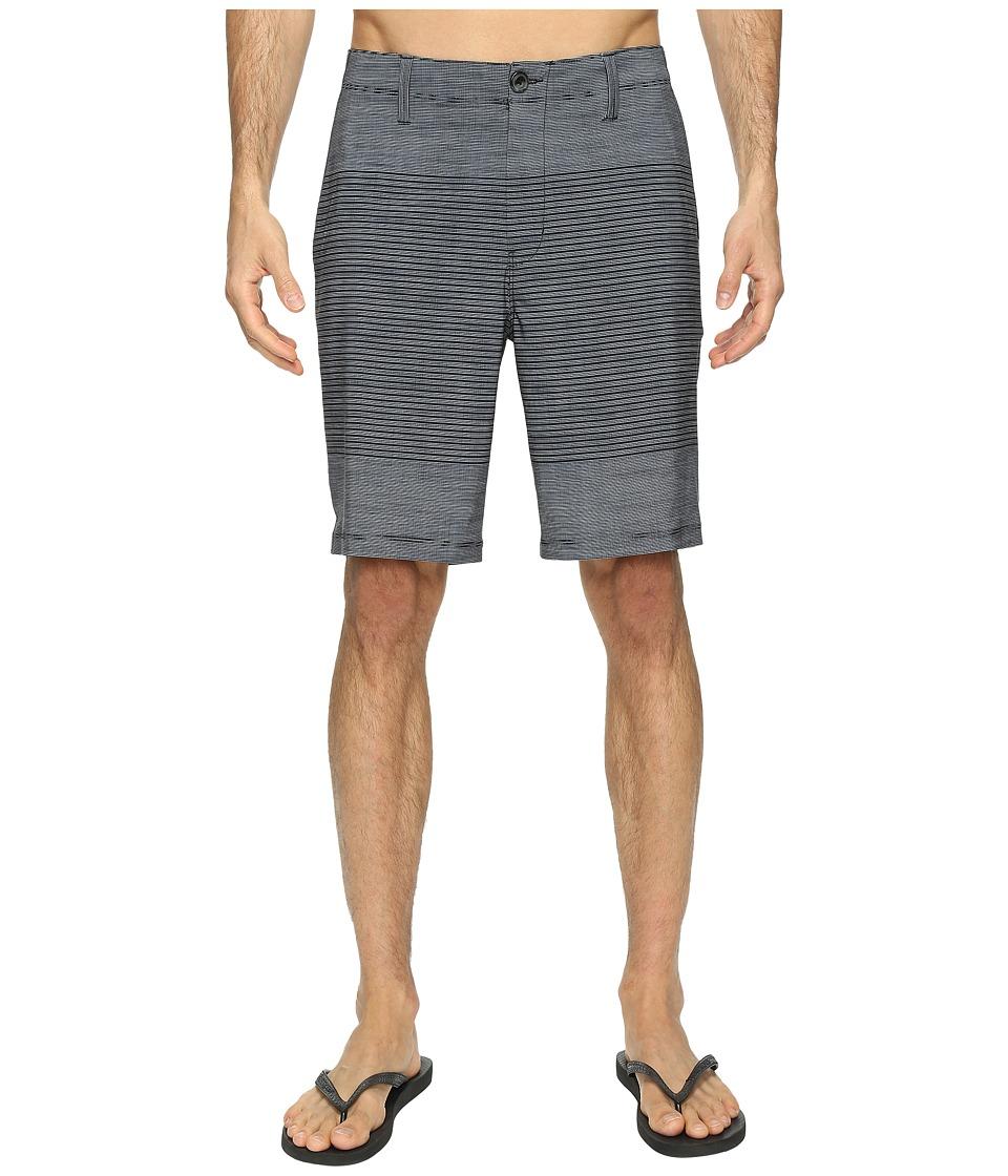 Vans - Gaviota Stripe Hybrid Shorts 20 (Black) Men's Shorts