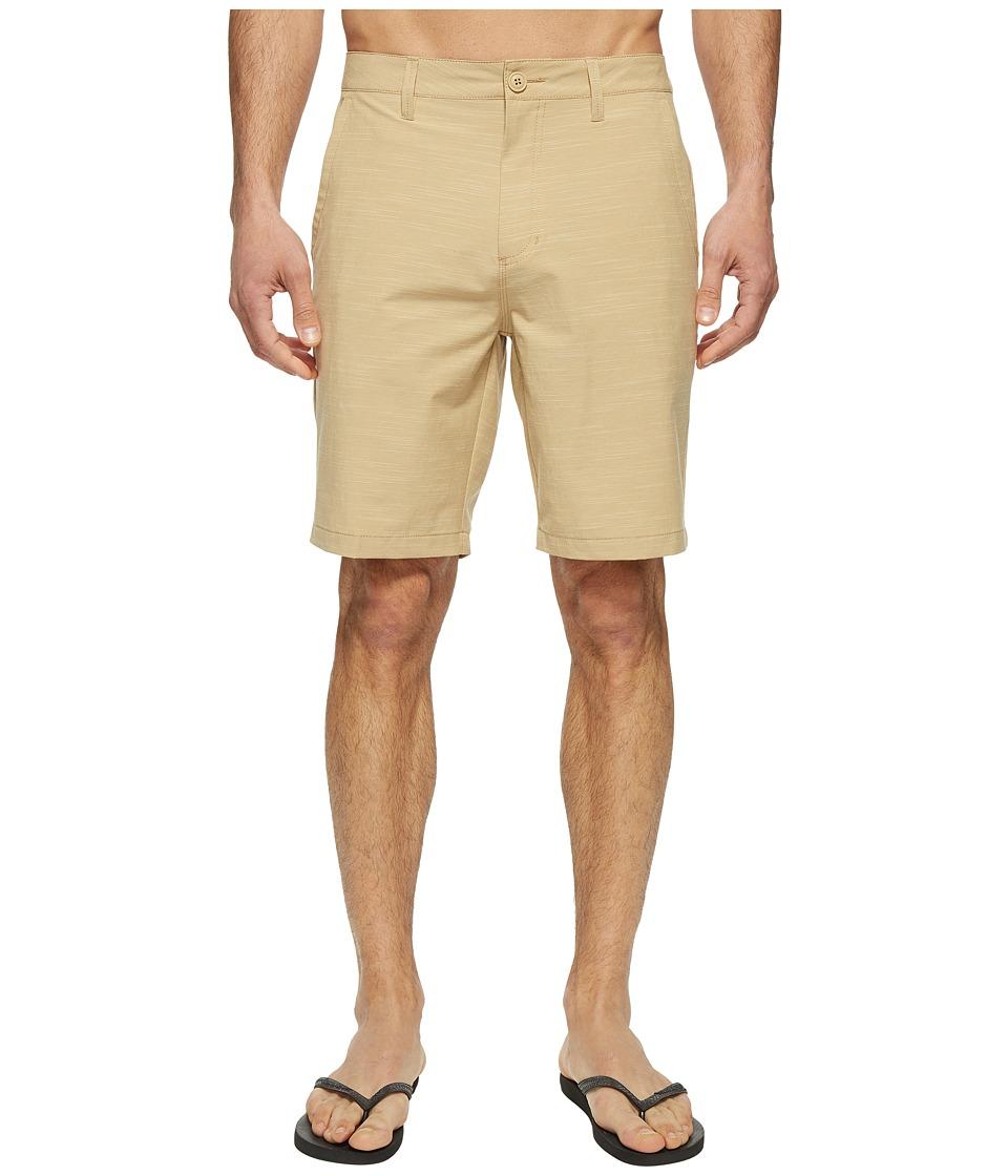 Vans Authentic Slub Hybrid Shorts (Khaki) Men