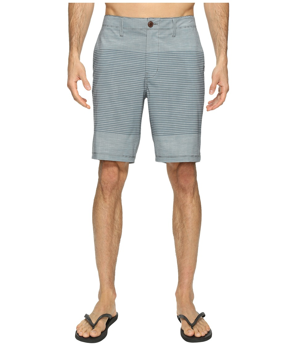 Vans - Gaviota Stripe Hybrid Shorts 20 (Dark Slate) Men's Shorts