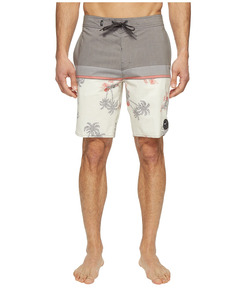 Vans Two Harbors Boardshorts (Turtle Dove Havana Floral) Men