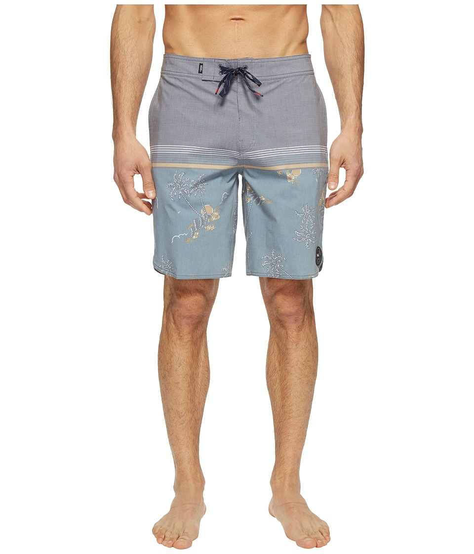Vans - Two Harbors Boardshorts (Blue Mirage Havana Floral) Men's Swimwear