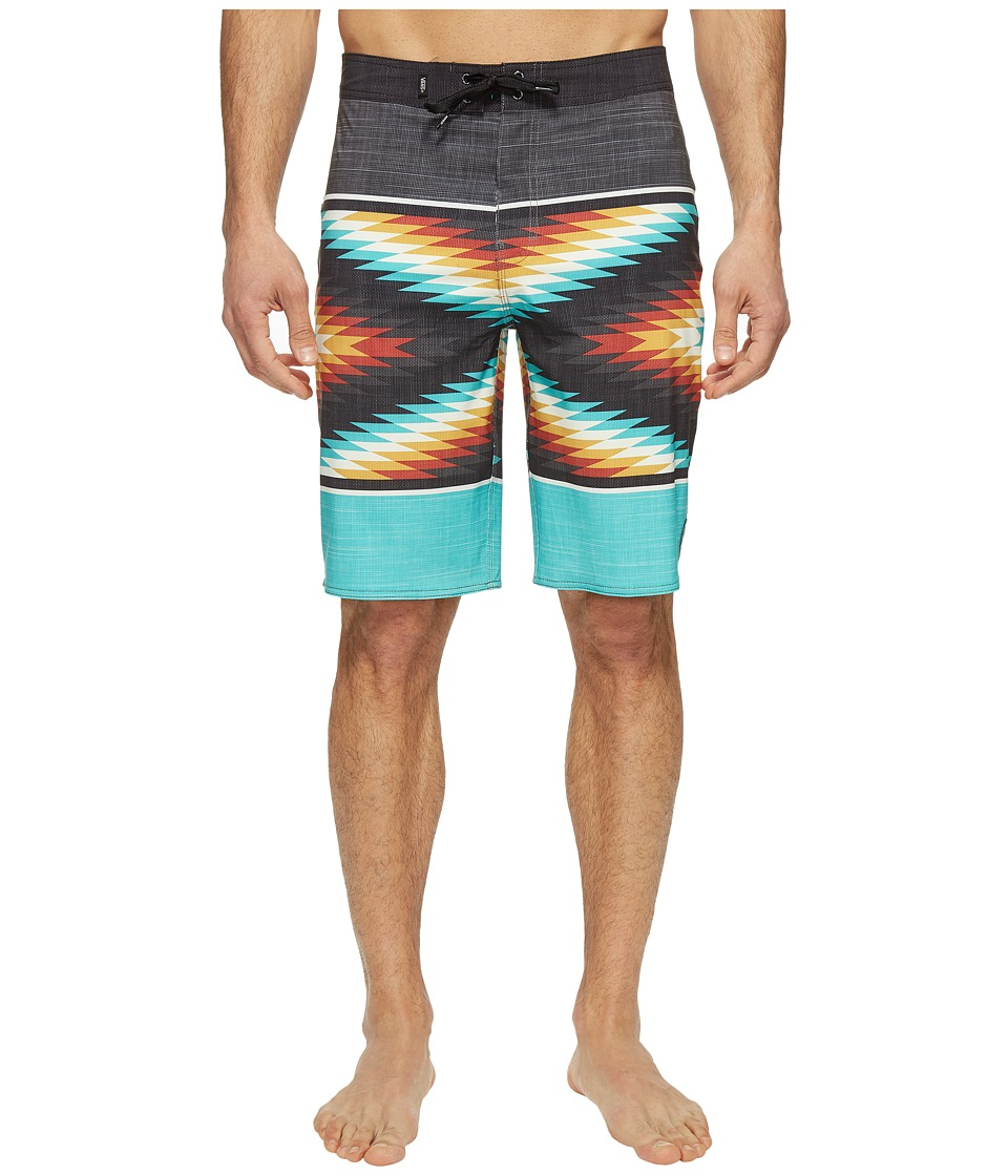 Vans - NF Into Oblivion Stretch Boardshorts (Baltic) Men's Swimwear