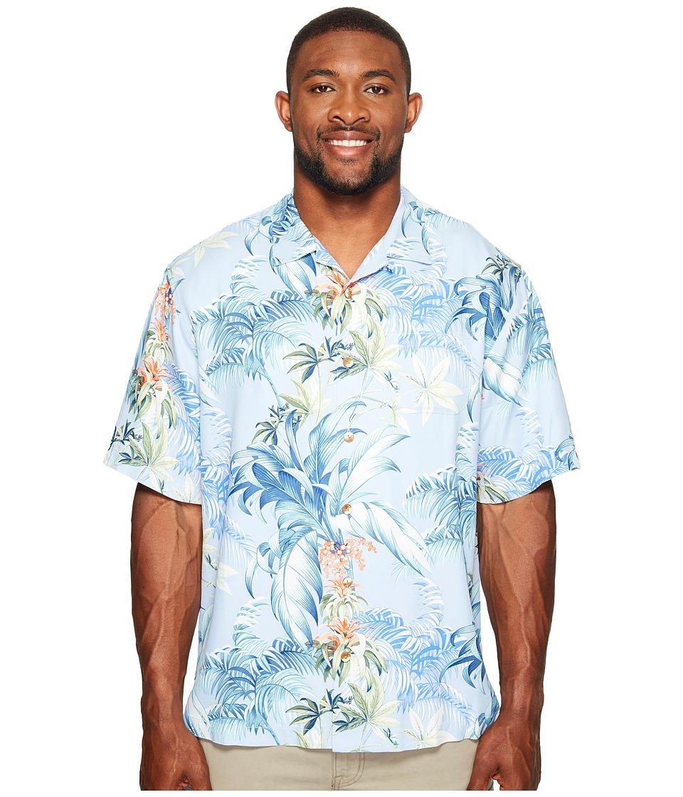 Tommy Bahama Big & Tall - Big Tall Tropical Falls Camp Shirt (Fresh Air) Men's Clothing