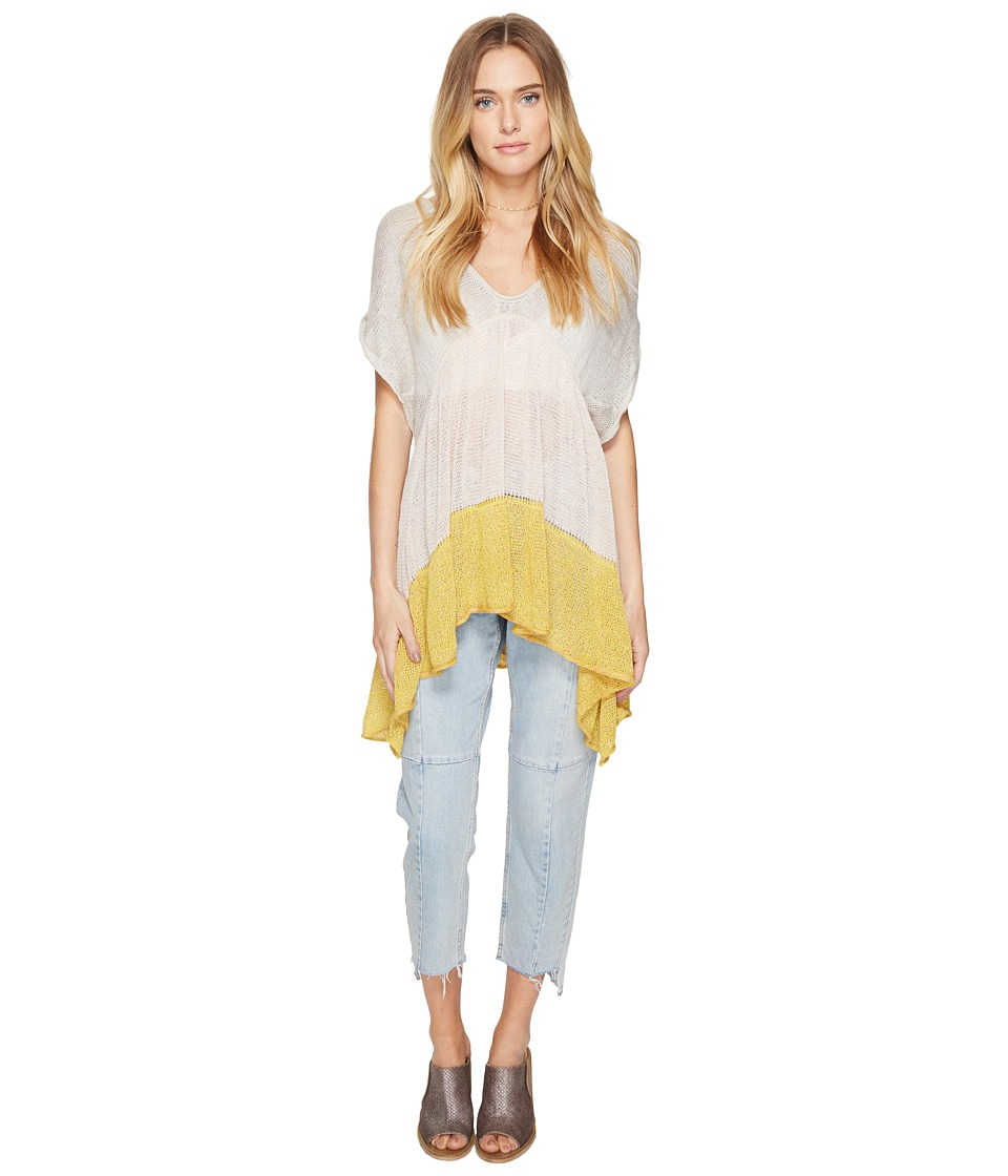 Free People - Storm Clouds Tunic (Neutral Combo) Women's Clothing