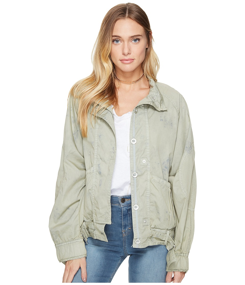 Free People - Parachute Jacket (Green) Women's Coat