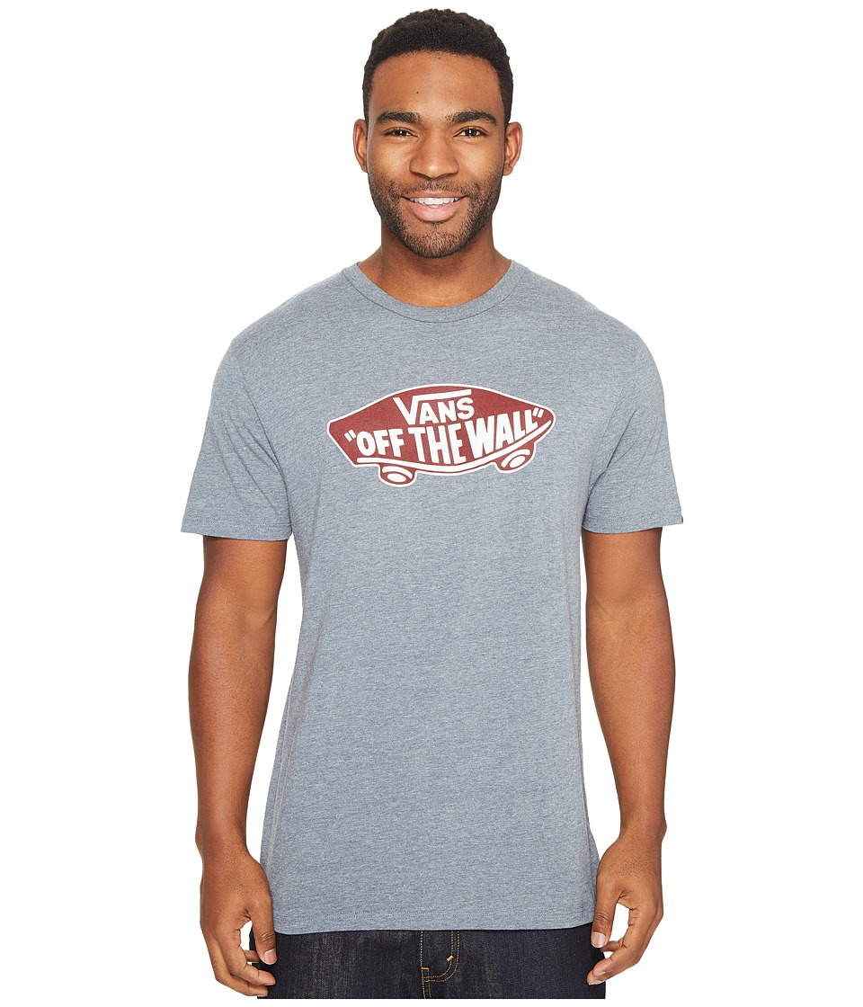 Vans - Vans OTW Tee (Heather Grey/Rhubarb) Men's T Shirt