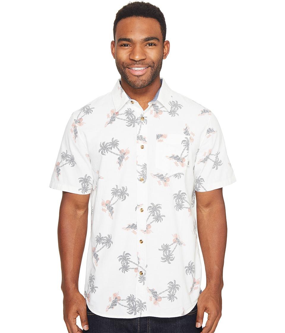 Vans - Salado Short Sleeve Woven (Turtle Dove Havana Floral) Men's Clothing