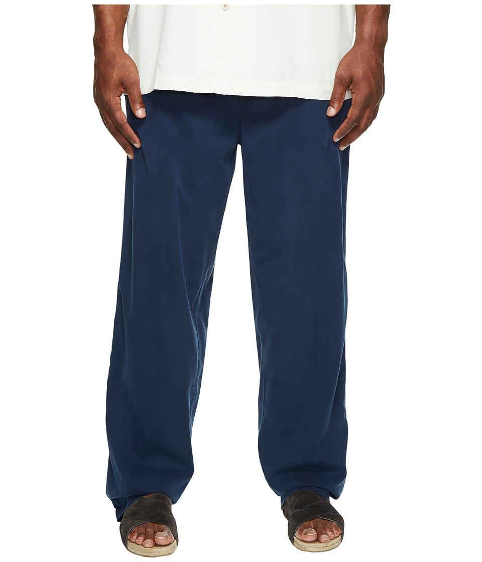 Tommy Bahama Big & Tall - Big Tall Beachfront Pants (Navy) Men's Casual Pants