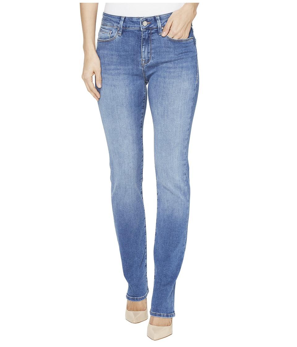 Mavi Jeans Kendra High Rise Straight Leg Jeans in Mid Soft Shanti (Mid Soft Shanti) Women