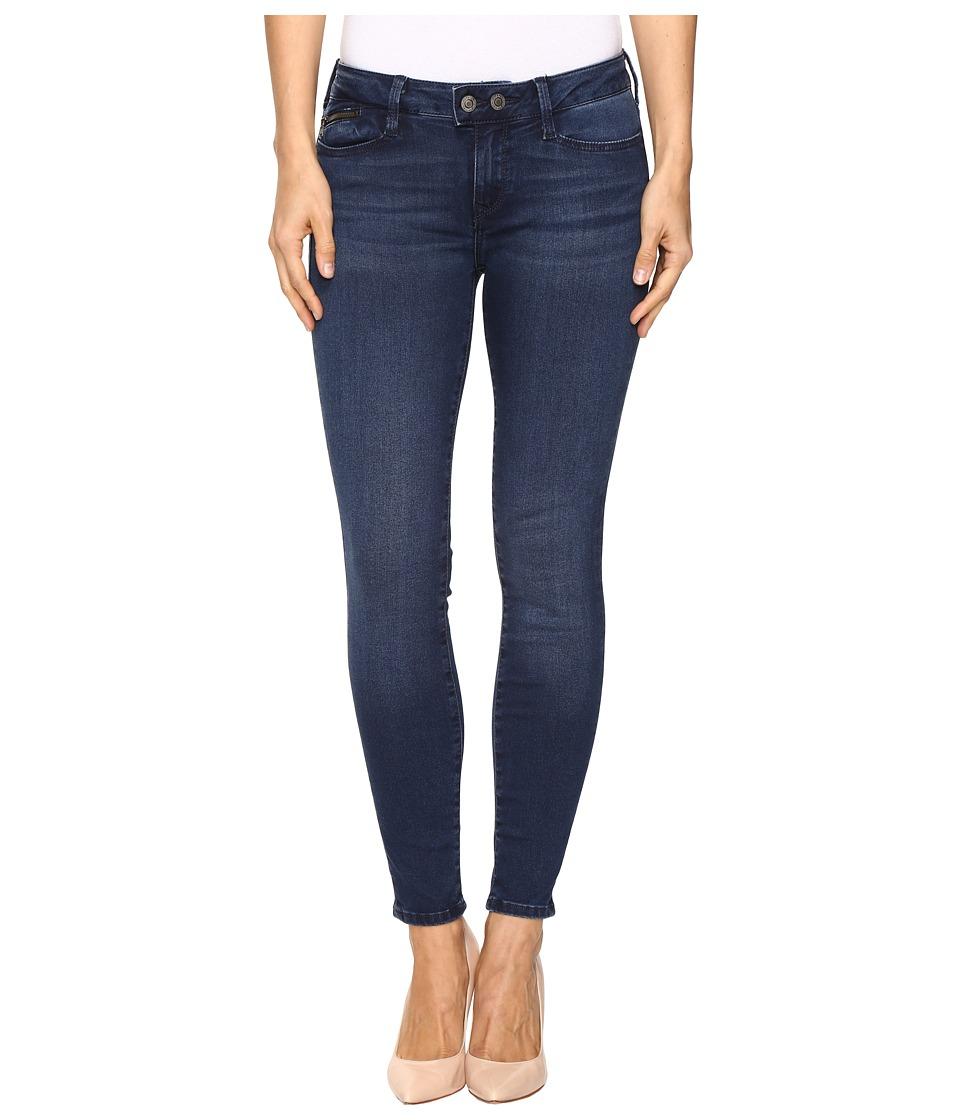 Mavi Jeans - Adriana Mid-Rise Super Skinny Ankle in Ink Indigo (Ink Indigo) Women's Jeans