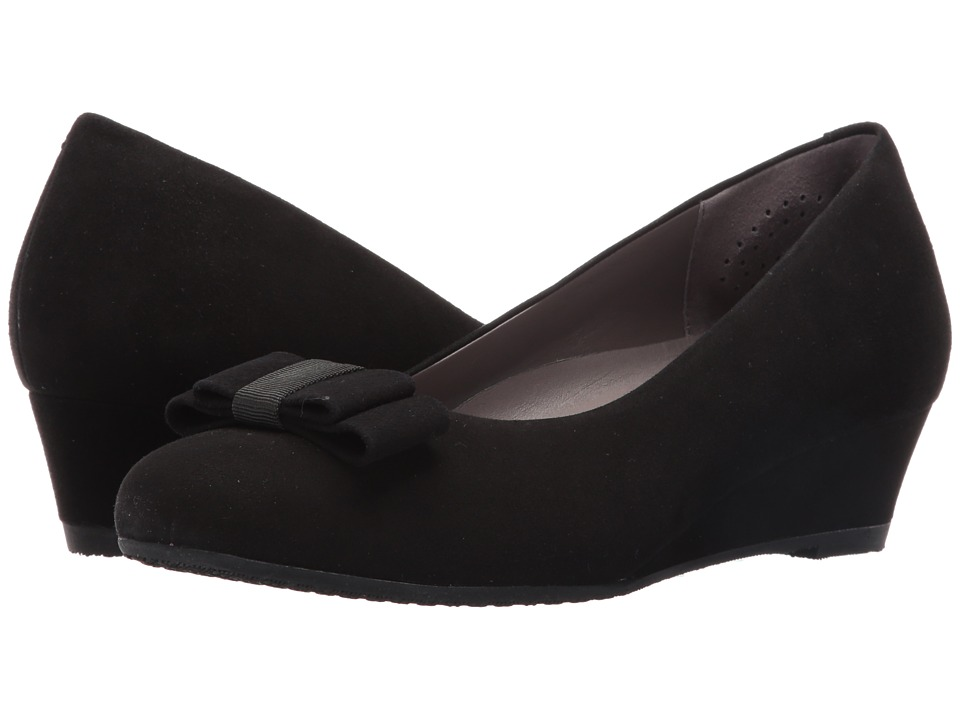 SAS - Audrey (Black Suede) Women's Shoes