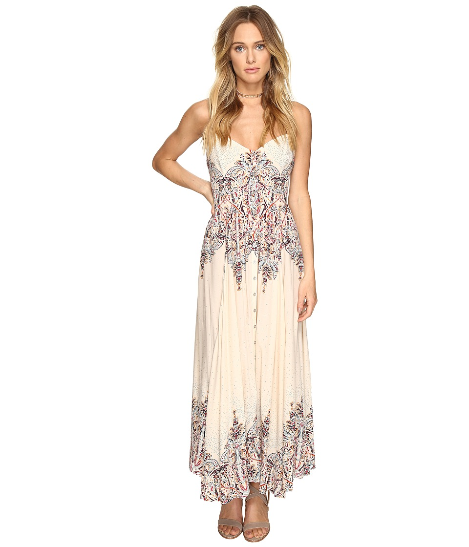 Free People - Be My Baby Maxi Dress (Ivory Combo) Women's Dress