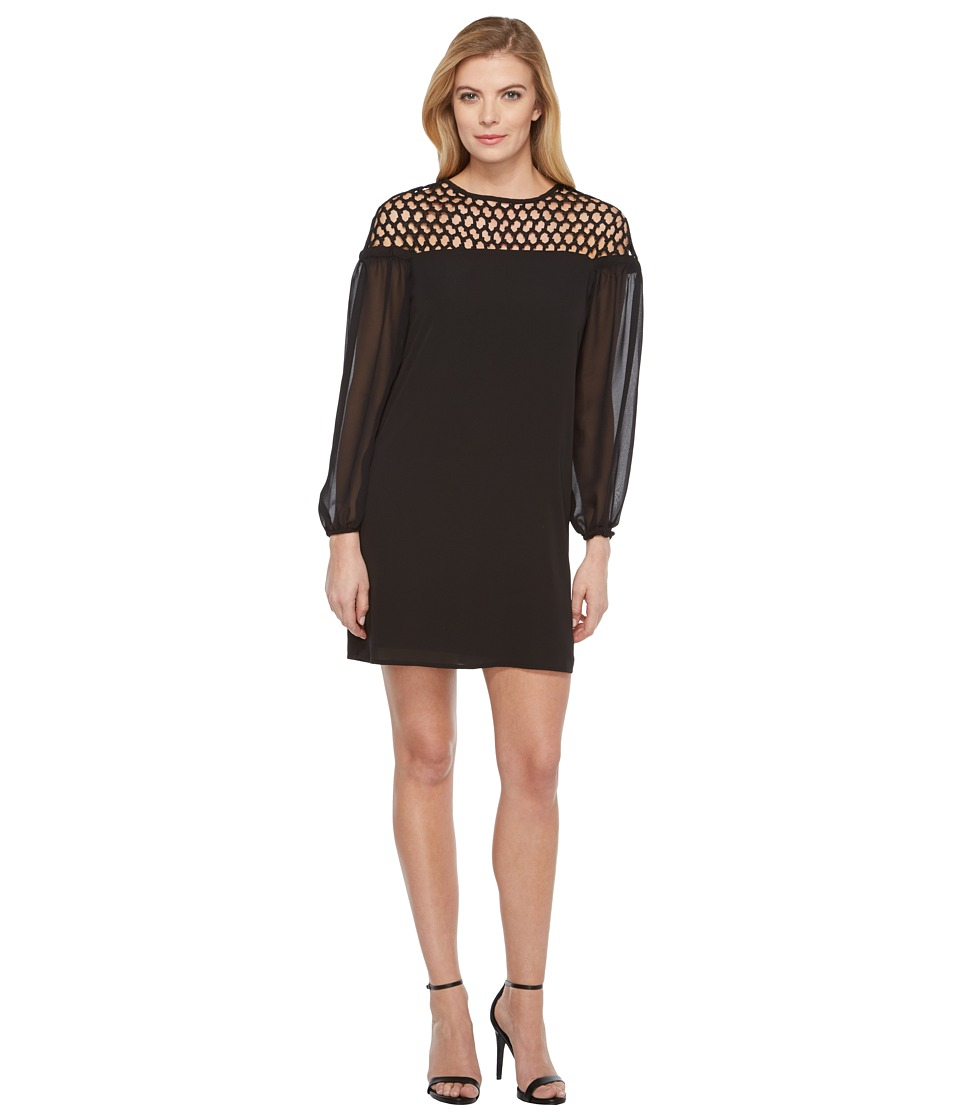 Laundry by Shelli Segal 3-4 Sleeve Cocktail Dress