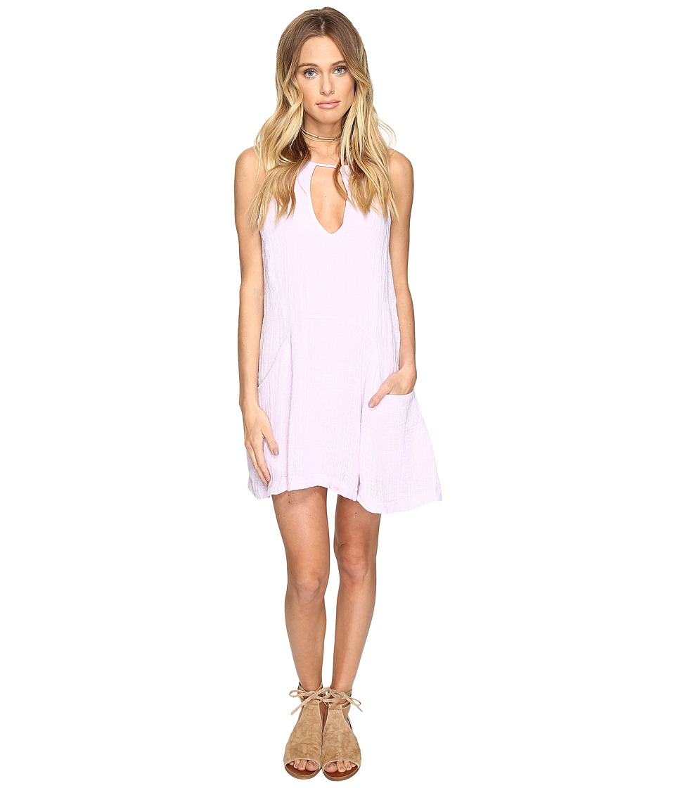 Free People - Smooth Sailing Mini Dress (Pink) Women's Dress