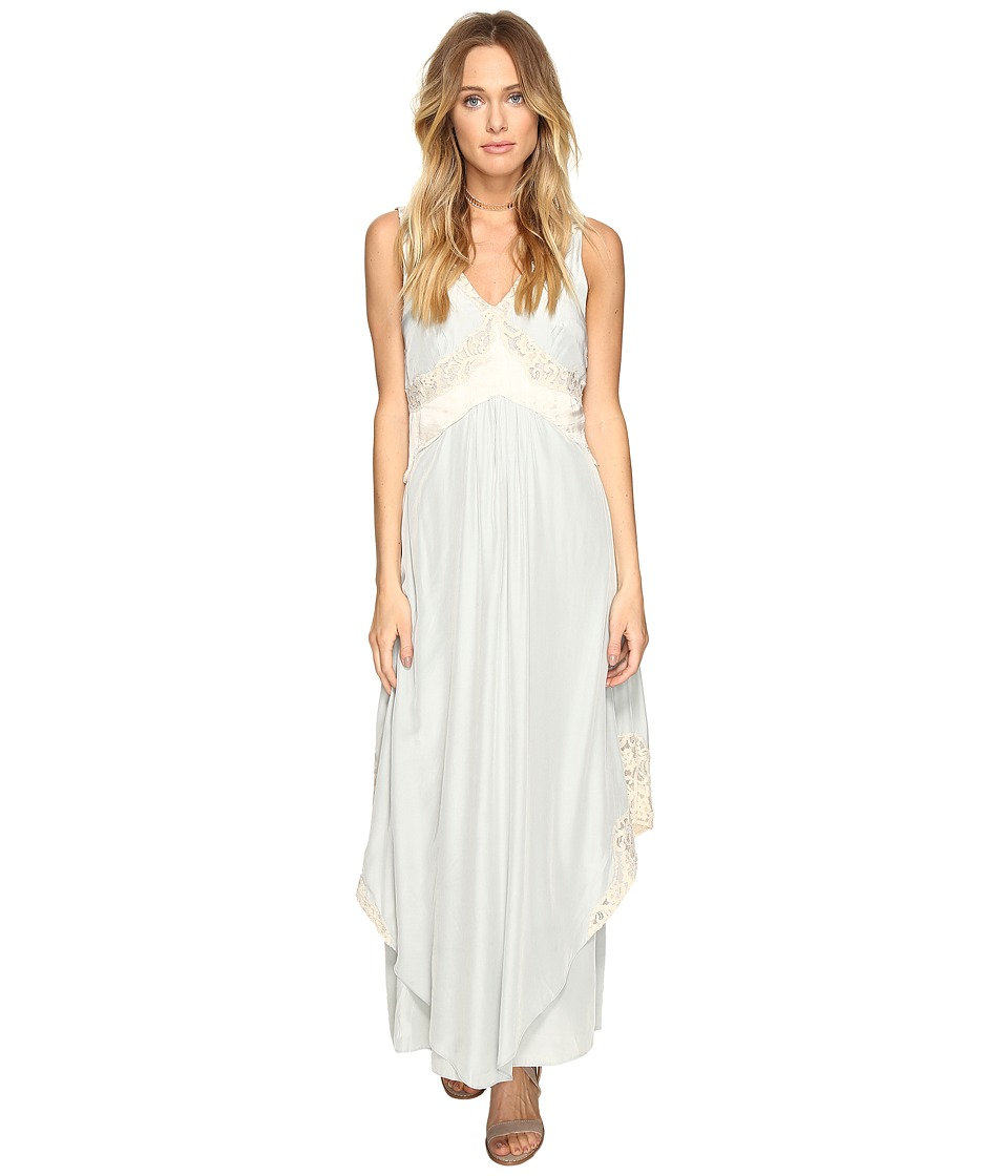 Free People - Baby Love Maxi Dress (Mint) Women's Dress