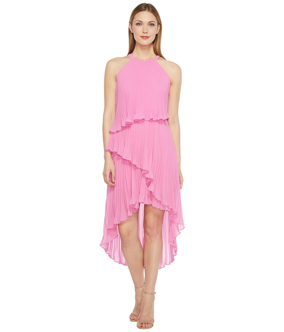 Laundry by Shelli Segal Tiered Chiffon Dress
