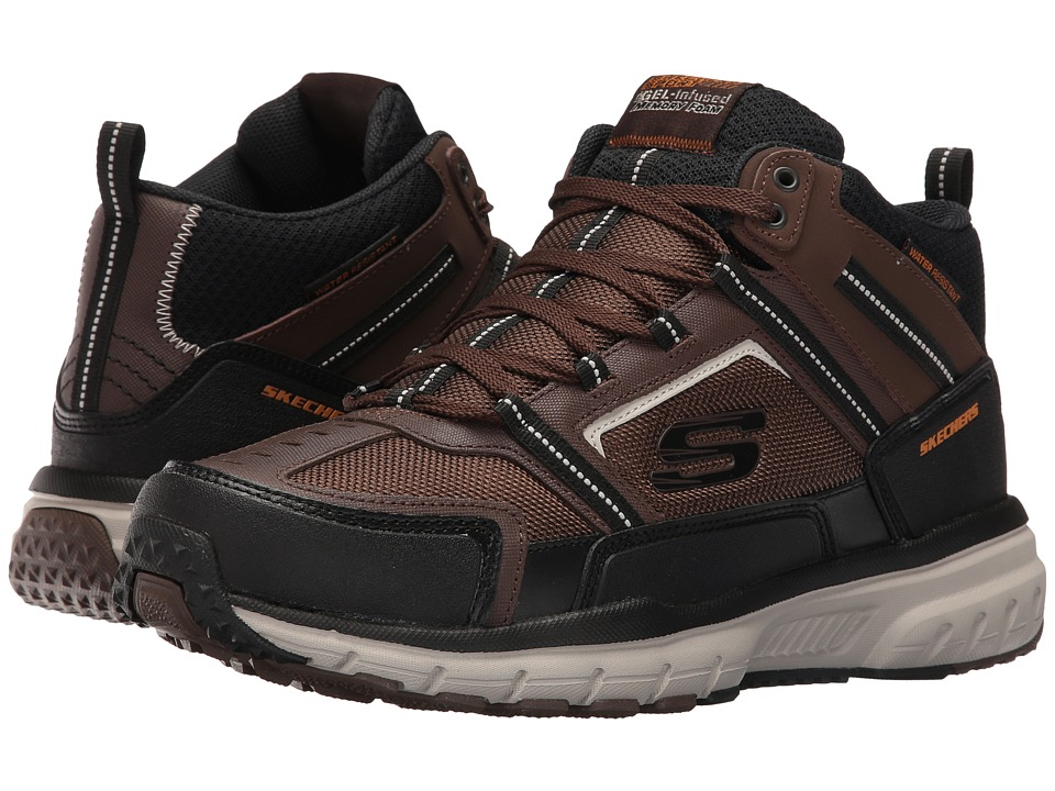 SKECHERS - Geo Trek Scenic View (Brown/Black) Men's Shoes