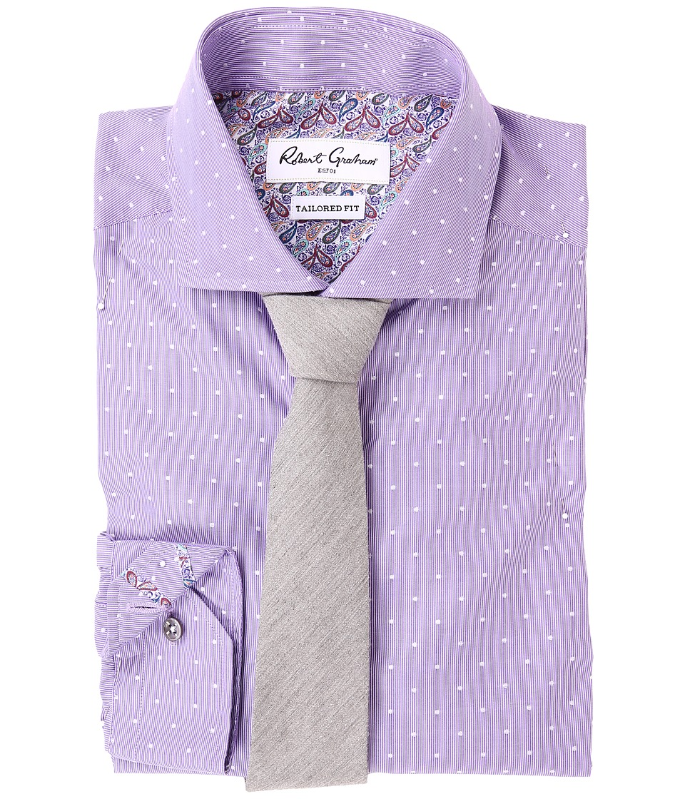 Robert Graham - Dolo Dress Shirt (Purple) Men's Clothing